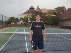 Tennis Pro Ben O'Brian