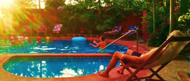 Enjoy your Mexican Siesta by the Pool