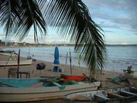 Mexico Resort - Fishermen's boats ready to launch