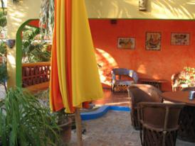 While on your Mexican vacations use our resorts patio and barbeque area for happy hour and dinner