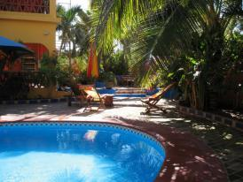 Mexico Resorts - Enjoy ambiance of the tropical gardens and pool at El Palmar, your Mexico Resort.
