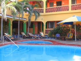 Mexico Resorts, poolside lounging in your boutique resort, relax and enjoy your Mexico Vacation