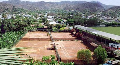 Mexico tennis at Melaque